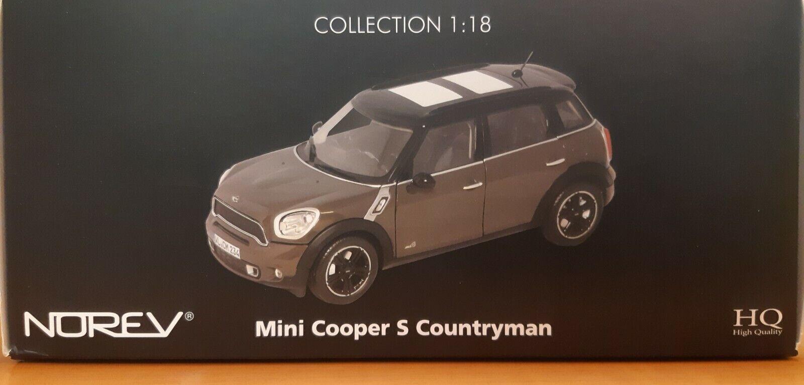 venta caliente en línea Norev Mini Cooper Cooper Cooper S Countryman 1 18  nuevo estilo