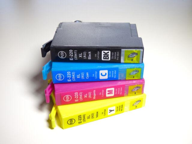 5 x compatible ink for Epson220XL 220 220XL WF-2750 WF-2760 WF-2660 WF-2650 2630