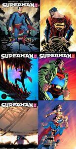 SUPERMAN-Year-One-1-2-3-Sets-Romita-Jr-FRANK-MILLER-NM-DC-BLACK-LABEL