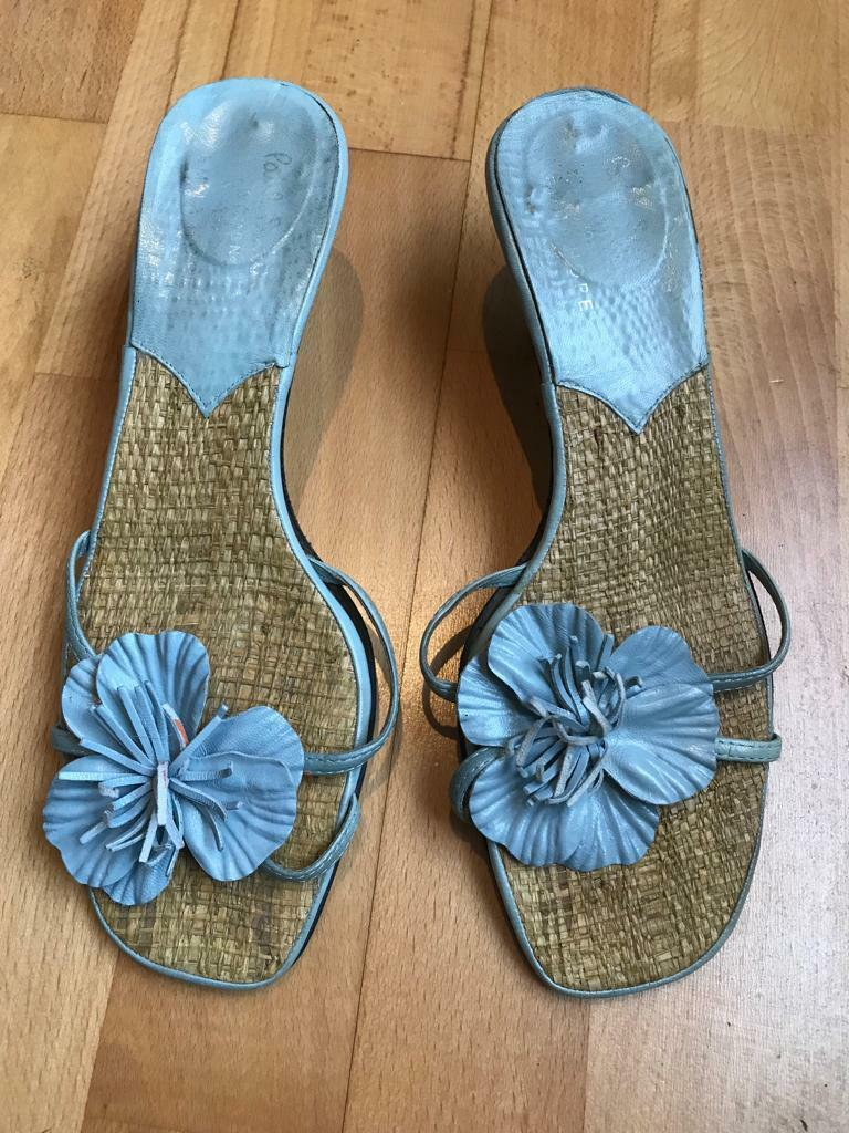 Paul Smith for Größe Emma Hope Pale Blau Heeled Sandals. Größe for 5. aaef42
