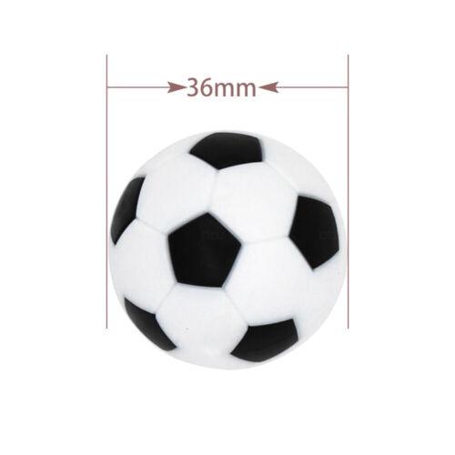 36mm Table Soccer Foosball Balls Replacement Tabletop Game Kickerballs 6 Pcs Set