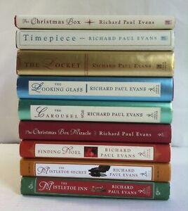 Lot 9 Richard Paul Evans (HC) Christmas Box 1 2, Locket 1-3, Mistletoe, Miracle | eBay