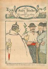 Poilus Guillaume/Wilhelm II Pickelhaube Rameaux Olivier Canard Couteau 1918 WWI