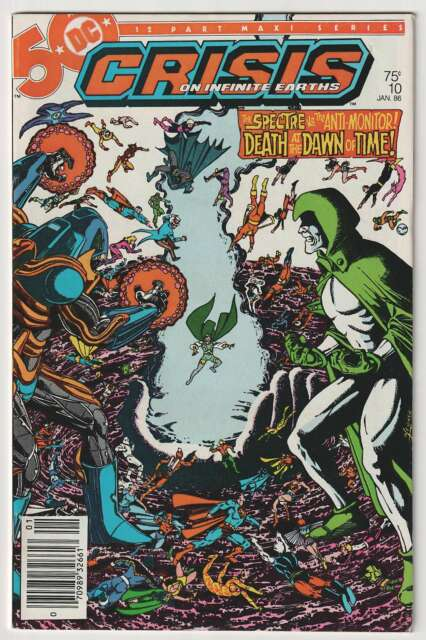 M1355: Crisis on Infinite Earths #10, Vol 1, VF NM Condition
