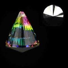 Feng shui cristales arco iris-cristales cono multicolor 3 unidades de 4,2 x 5,3 cm