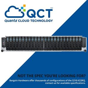 Quanta-26x-Bay-2U-Storage-Server-S210-X22RQ-2x-Intel-Xeon-2-90GHz-Eight-Core