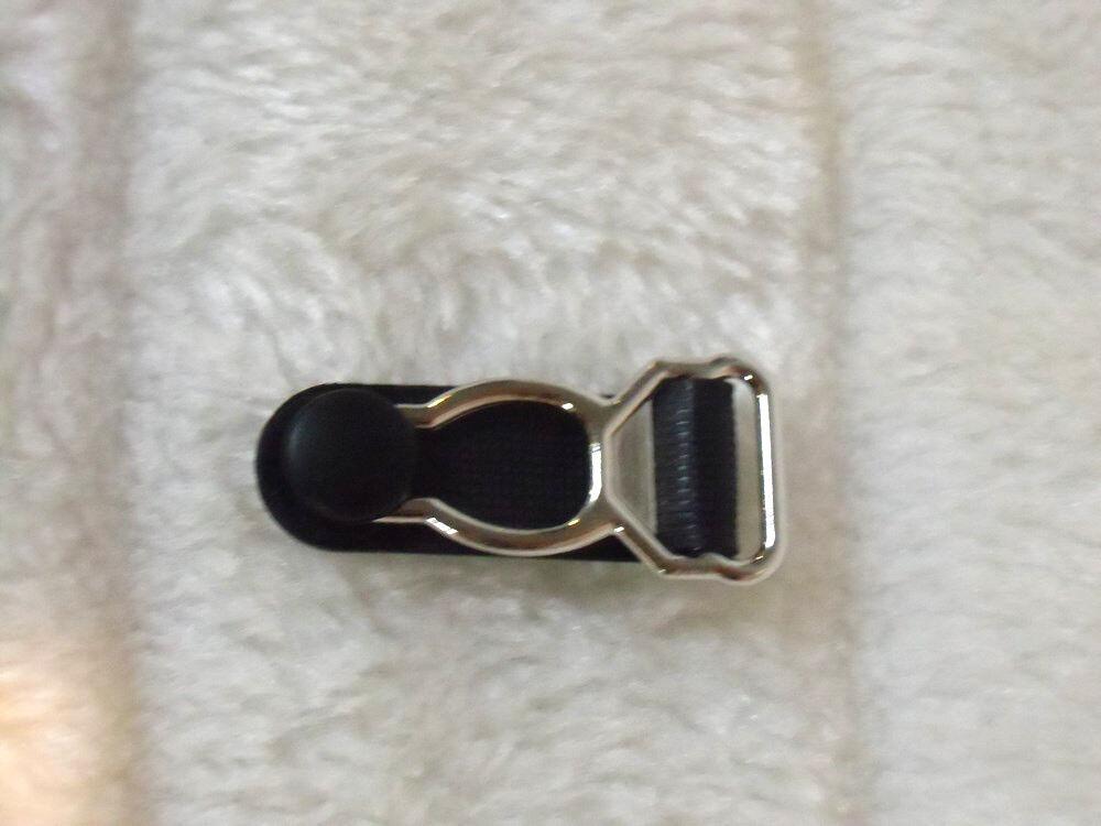 1 Klemme Halter Straps Links die Einheit Herstellung Ersatz Metall Plastik Black