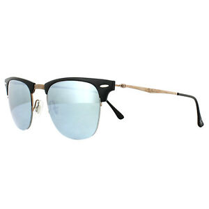 357c39d9d2 Ray-Ban Sunglasses Clubmaster Light Ray 8056 176/30 Black Brown ...