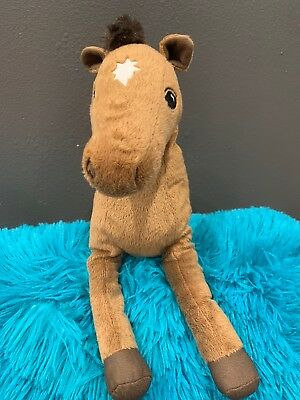 ÖKENLÖPARE Soft toy horse Brown Stuffed Animals Plush Toy for Kids Gift