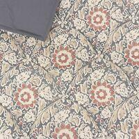 5465703678b62 Noble Excellence Villa King Quilt Set 3pc Blue Red Vintage Colonial Floral