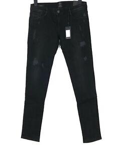 ELIAS RUMELIS Damen Jeans Hose Super Stretch Slim Skinny W31 L30 Schwarz NEU