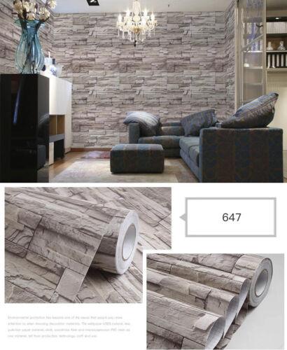 Dekofolie Möbelfolie Stein Optik Klebefolie selbstklebend 647-6€ //m²