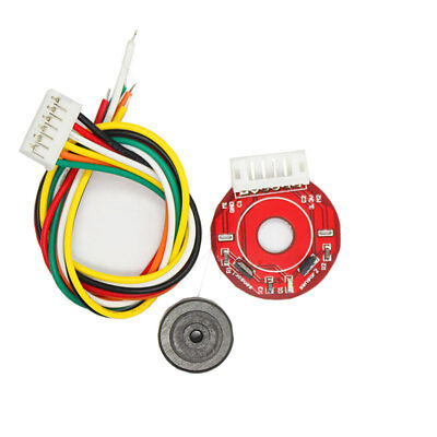 25mm Magnetic Hall Encoder 11PPR  Double Phase Output Square Wave For 370 Motor