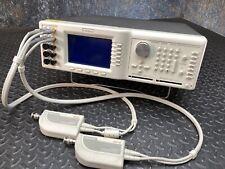 Flukewavetek 9500 Oscilloscope Calibrator With 9520 Amp 9510 11 Ghz Active Heads