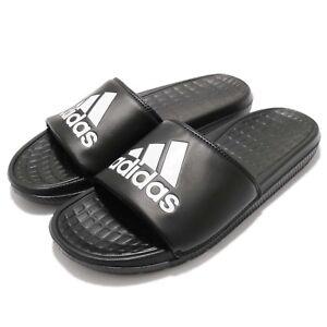 eeb52dd3905e adidas Voloomix Logo Black White Men Sports Sandal Slides Slippers ...