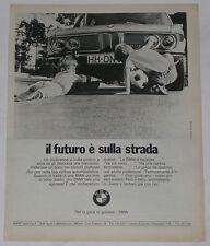 Advert Pubblicità 1971 BMW 2800 E3 NEW SIX
