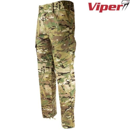 """VIPER BRITISH ARMY STYLE MTP CAMO PCS 95 TROUSERS MENS 28/""""-52/"""" CADET AIRSOFT"""