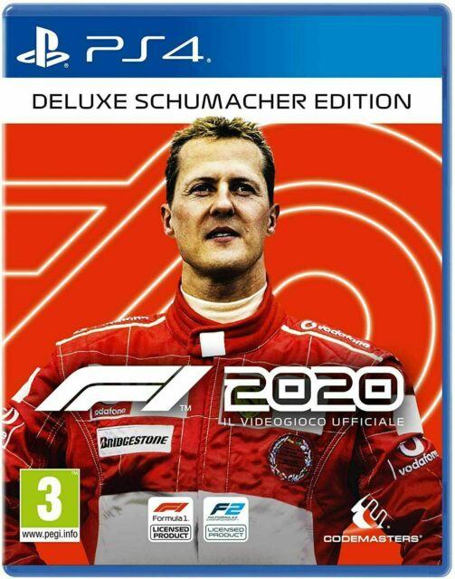 F1 2020 Deluxe Schumacher Edition Ps4 gioco italiano Play station 4 formula 1