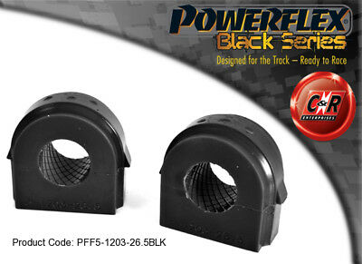 Bmw M3 11-powerflex Black Series Anteriore Arb Cespugli 26.5mm Pff5-1203-26.5blk-blk It-it