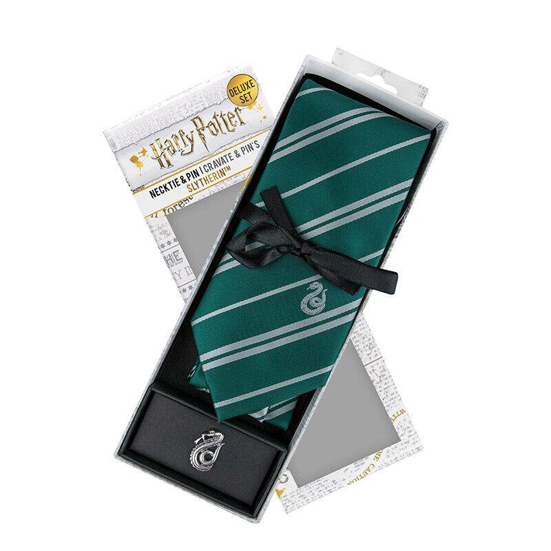 Harry Potter Slytherin Necktie DLX Deluxe Box Set