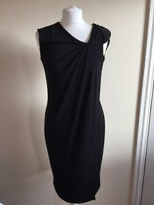 Star-By-Julien-MacDonald-Black-Bodycon-Wiggle-Dress-Size-10-Evening-Party