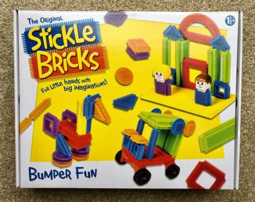 The Original STICKLE BRICKS Age 1.5+ Brand New /& Sealed! 103 Pieces Hasbro