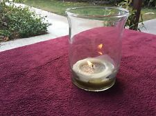 Libbey Adorn GLASS Hurricane Vase/Candleholder  4.4-Inch Tall  Clear  Set of 6