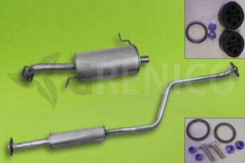 Montagesatz MAZDA 323F 1.5 16V Fließheck 98-01 Auspuff Komplette Auspuffanlage