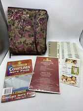 Day Timer 7 Ring Zipper Binder New Sealed Note Pads Ruler Amp Information Pages