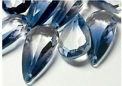 1pc Swarovski ® 24x12mm Ocean Blue Drop 6100 Pendant
