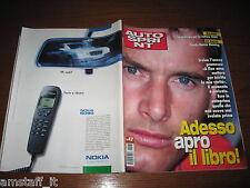 AUTOSPRINT 1999/47=EDDIE IRVINE COVER=PUBBLICITA' NOKIA 6090=