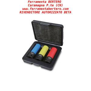 3-Bussole-dadi-ruote-Beta-Utensili-720LC-C3-inserti-polimerici-colorati-Action