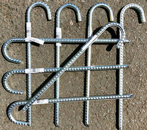 10 Stück XXL Bodenanker Erdspieß Zelt Heringe Erdnagel Erdanker Zeltheringe