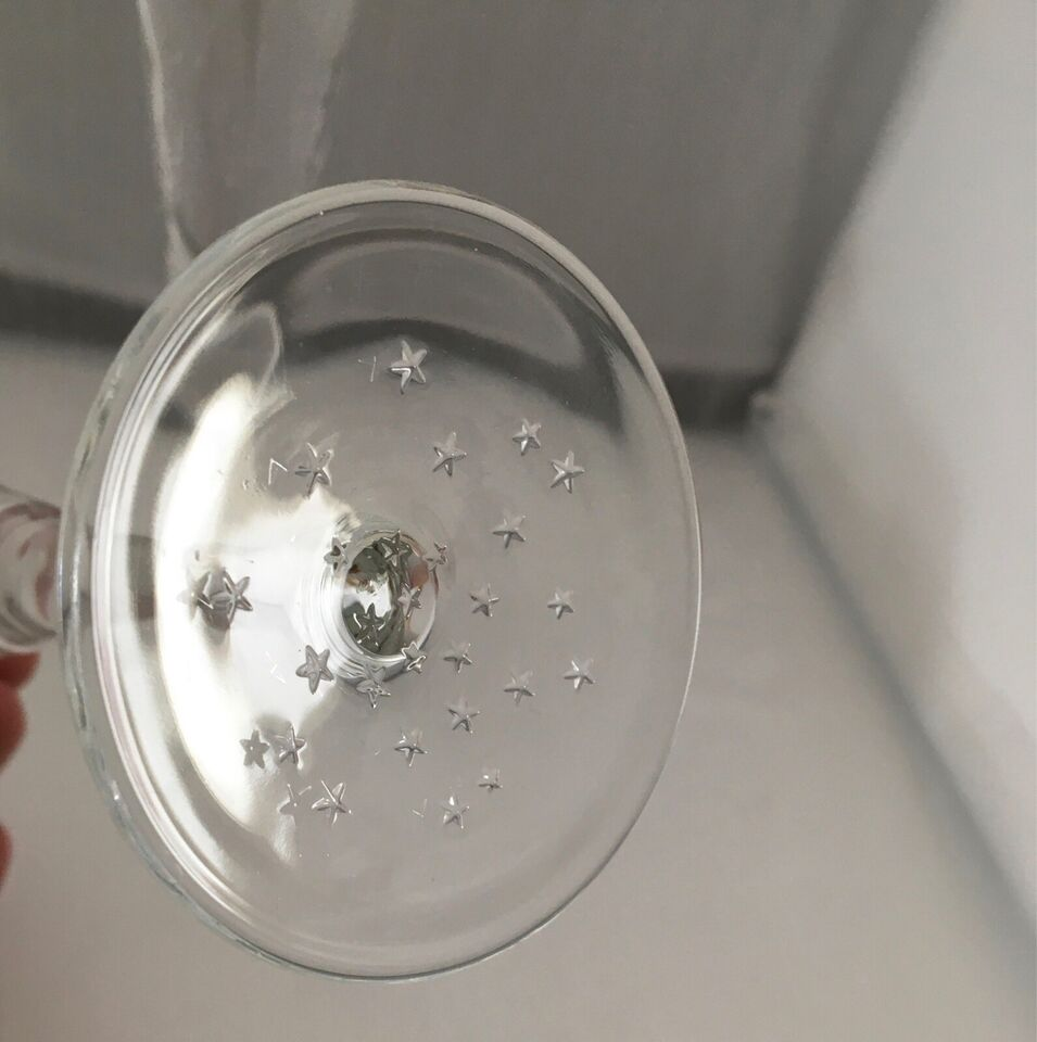 Årtusindskiftet Champagneglas 2000