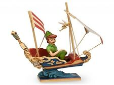 Jim Shore Peter Pan's Flight + Tinkerbell Disney Traditions Disney Park 4032116