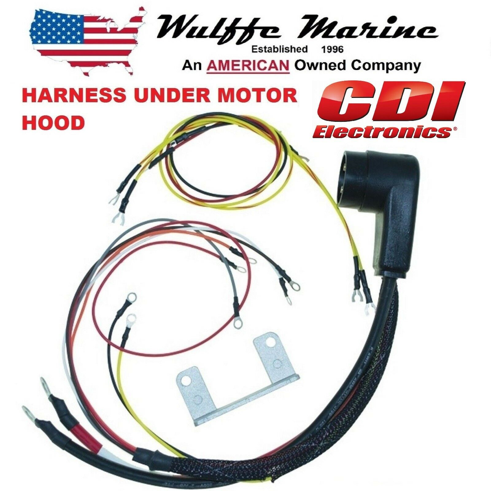 Internal Engine Wire Harness for Mercury OUTBOARD 20-140 HP CDI 414-5532 on boat motor wiring, trim tab switch wiring, 24 volt trolling motor wiring, jon boat wiring,