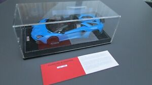 Lamborghini Aventador Roadster SV Blue Le Mans MR 1:18  RARE !!!