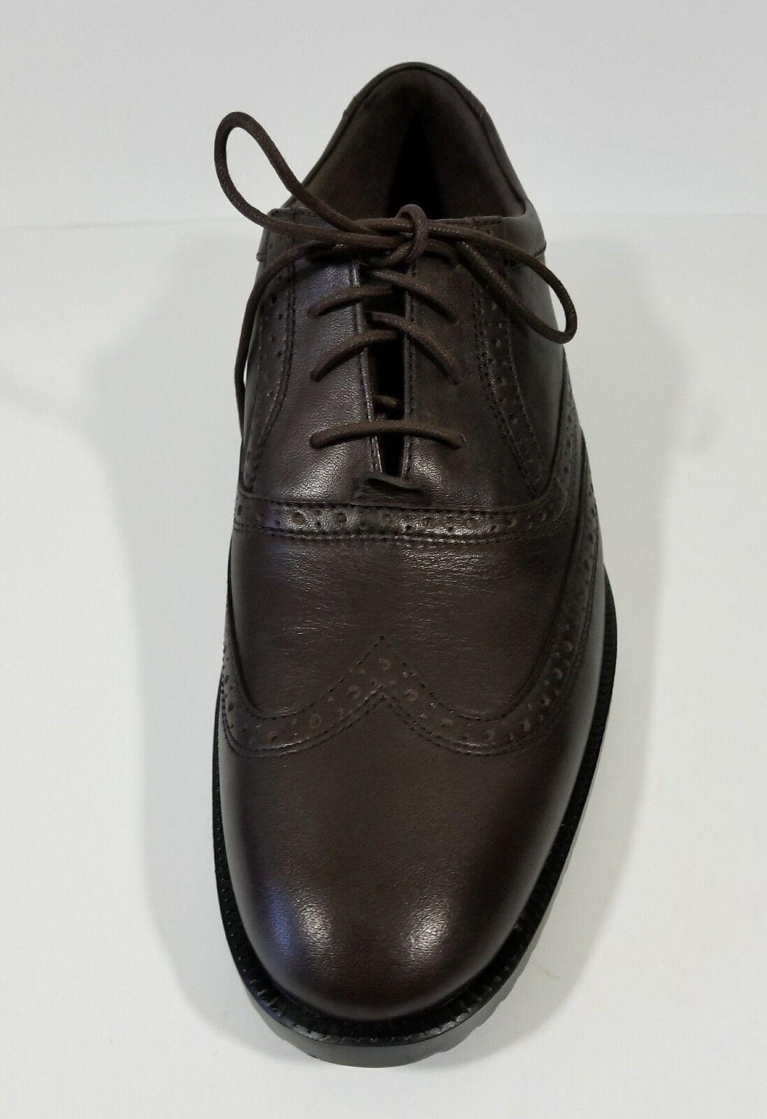 Rockport Darrick Mens Tip Dress Shoes Brown Wing Tip Mens Size 10.5 Leather 155ffb