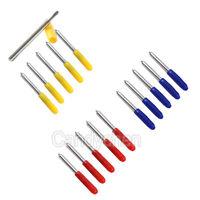 15pcs 30° 45° 60°Plotter Cutter Cutting Blades For Vinyl Roland Cricut GCC LiYu