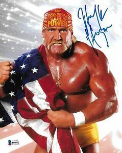 Hulk-Hogan-Autograph-Pre-Print-Wrestling-Photo-8x6-Inch