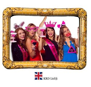 Hen Party Photo Booth Kit Blow Up Wedding 20 Props Inflatable