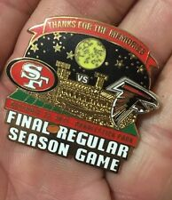 San Francisco 49ers Final Game Day Collector Pin