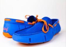 Wendorf Classic Poppy Orange/ Azure Blue Size 11 Nike, Adidas,Yeezy, Boost,Swims