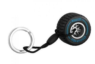 Pirelli Wet Tire Keychain Blue Tire Keyring 5055723813869 Ebay