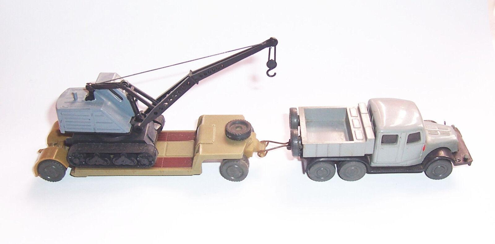 Espewe Excavateurs semi Tatra Camion RDA