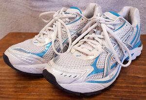 a686a2cc31e Asics Duomax Running Shoes-White Aqua Blue-Women Shoe-Size 6-GEL ...