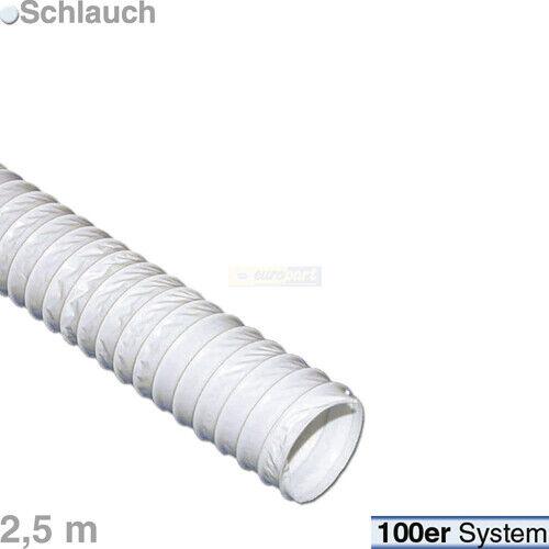 Abluftschlauch stark Ø 100 mm Länge 2,5 m selbstlöschend