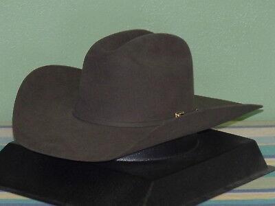 4bf937a3 Details about STETSON EMERSON SHOVEL BRIM 6X FUR FELT COWBOY WESTERN HAT