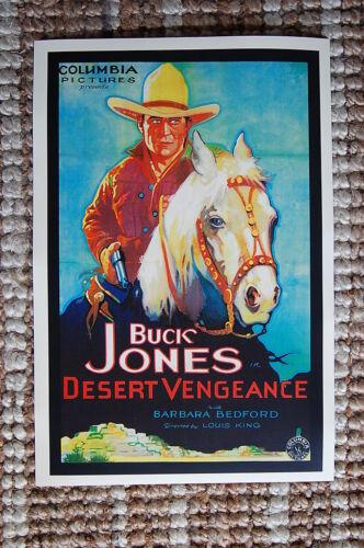 Desert Vengeance Lobby Card Movie Poster Western Buck Jones