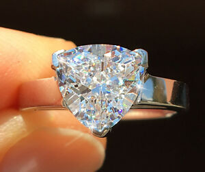 1 ct Radiant Cut Canary Vintage Stone Top CZ Moissanite Simulant 7 x 5 mm